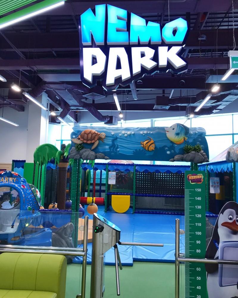 Открытие детского развлекательного парка «KeruenPark» в ТРЦ «KeruenCity»