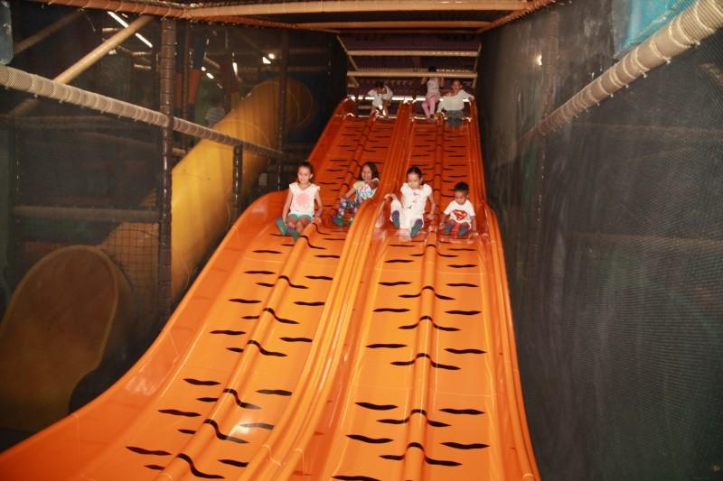 Торжественное открытие детского развлекательного парка «KeruenPark» в ТРЦ «KeruenCity»